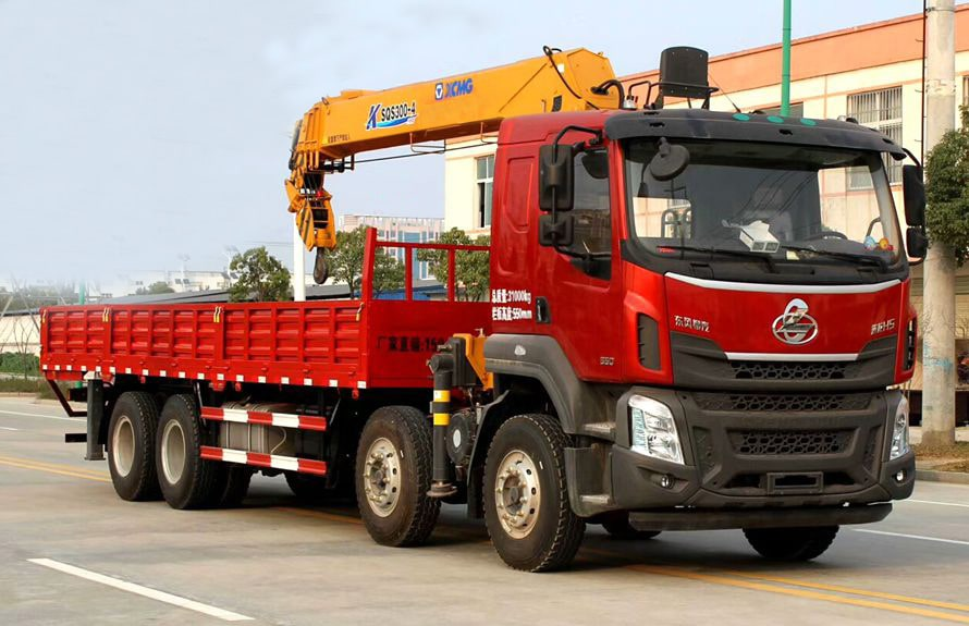 manual truck mounted crane 3