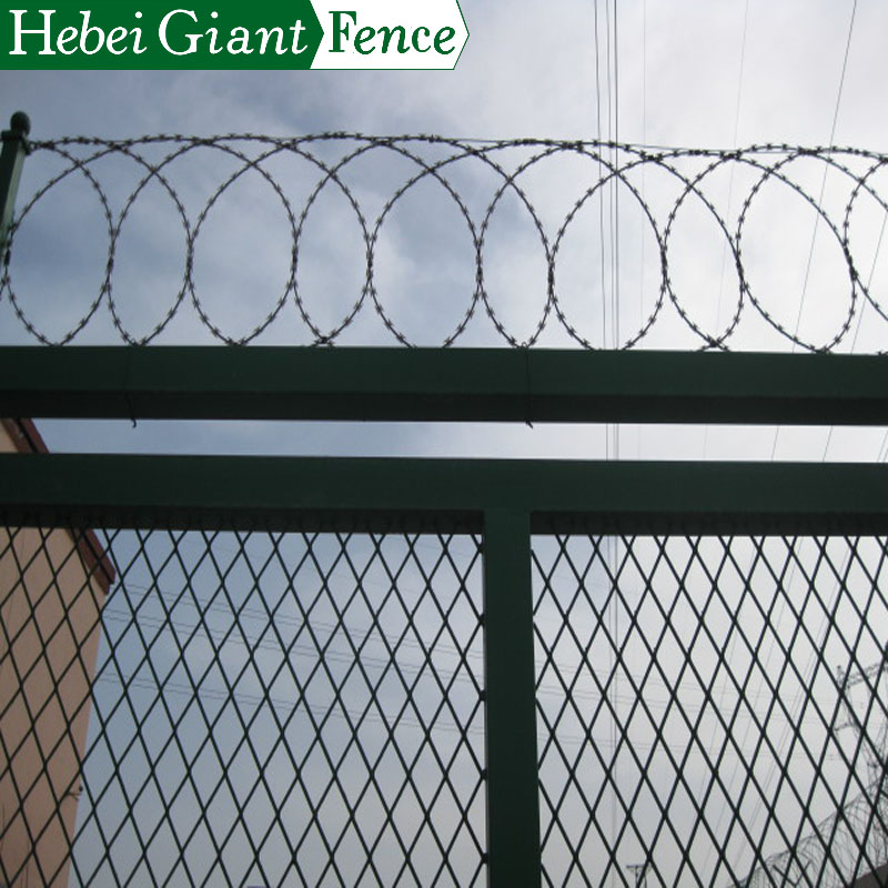 Protective Galvanized Chain Link Fence with PVC Surface
