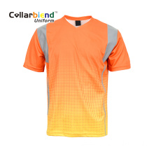 Sublimation Print Reflective T Shirt
