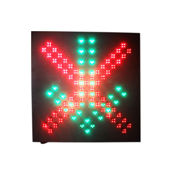 toll station stop go guide traffic signal light