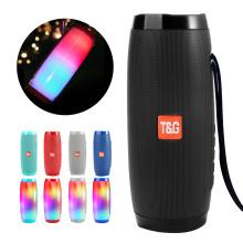 LED Speakers Portable Bluetooth Speaker Column Soundbar Wireless Waterproof Loudspeaker Cool Color LED Lights Bass 3D Stereo