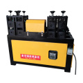 Waste steel straightening machine