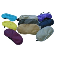 Cotton Polyester Custom Soft Promotional Airline Eyemask