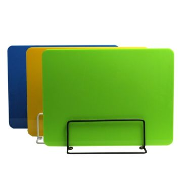 Counter plastic sneeze guard divider partition board