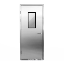 Stainless steel medical door