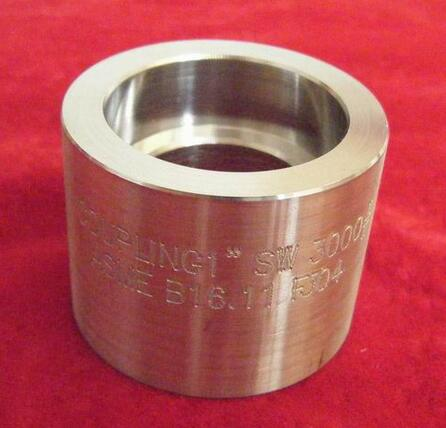ASME B 16.11 SOCKET WELDING COUPLING
