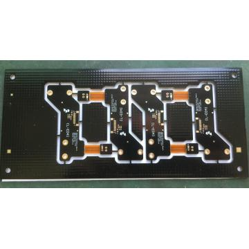 Turn Rapidu 4 strato PCB Rigidu-flex