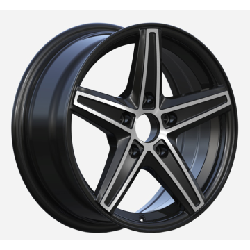 Matt Black Aluminium Alloy Wheels 17x7 5x114.3