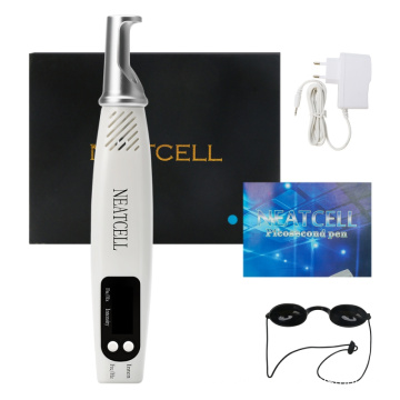 Picosecond Laser Pen Blue Light Therapy Pigment Tattoo Removal Dark Spot Remover Machine Skin Care