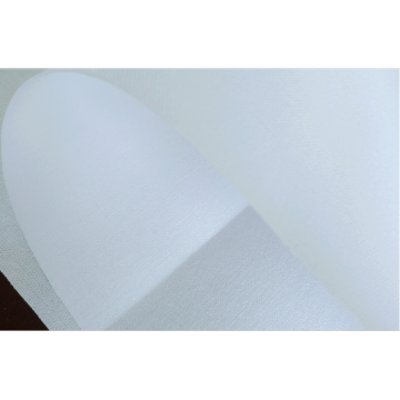 fashion fusible interlining/white color cuff interlining