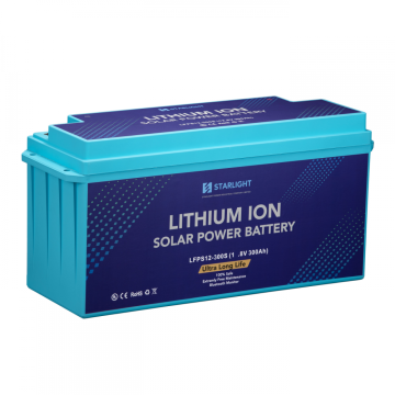 12.8V300Ah (Special) Rechargeable LiFePO4 Solar Battery