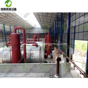 Fuel Recycle from Pyrolysis Solid Plastic Waste