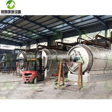 Plastic Waste Pyrolysis Oil Process Plant