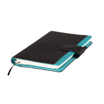 pu leather charge notebook