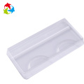 Insert eyelash clear plastic tray packaging