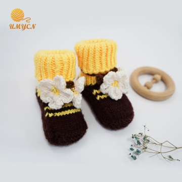 Super Soft Amigurumi Plush Winter Shoe