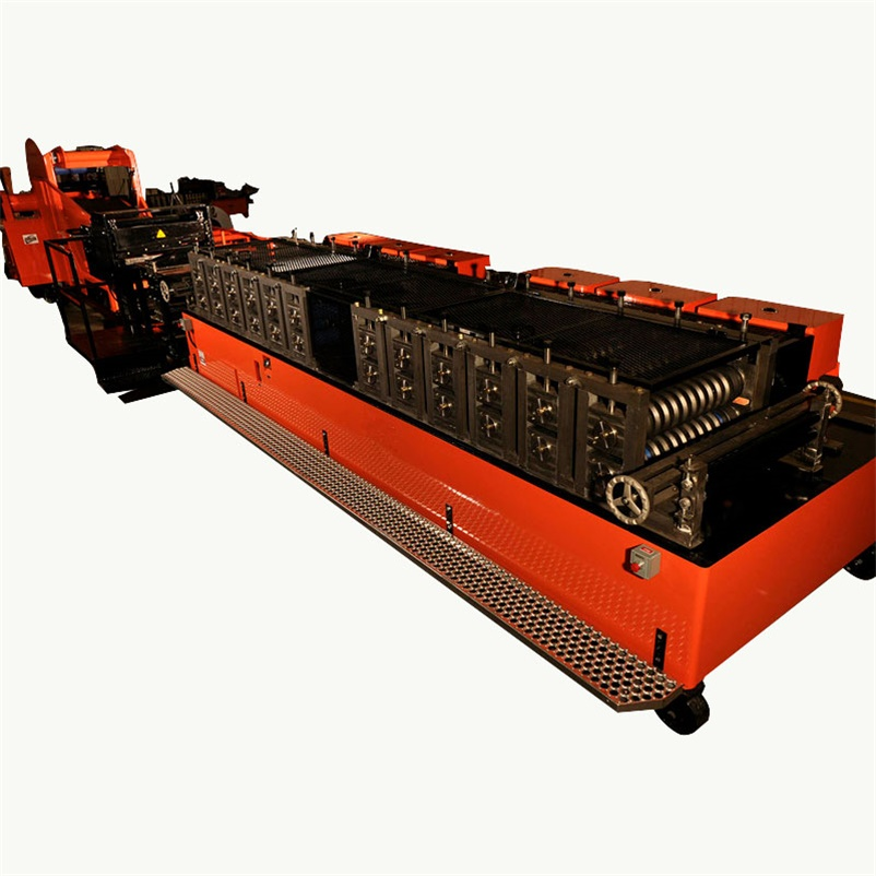 Metal Foil Aluminum Sleeve Core ​Roll Forming Machine