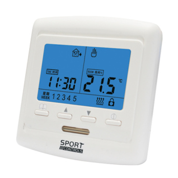 Digital display heating thermostat