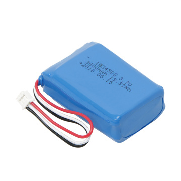 High Temperature 103450 3.7V 3600mAh Lithium Polymer Battery
