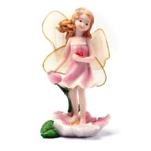 Miniatures Fairy Garden Ornament Decorations Flower Angels Resin Crafts Mini Garden Micro Landscapes Dollhouse Bonsai Figurine