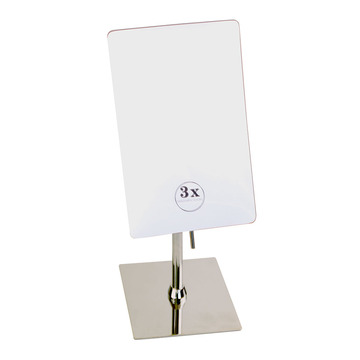 Hotel Bathroom 3X Wall-Mounted Mirror Quare