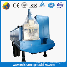 Steel And Metal No Beam Roof Tile Machine