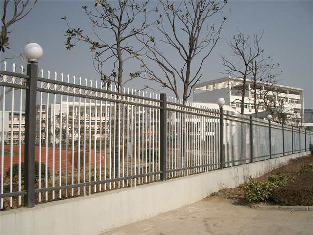 steel fencing system