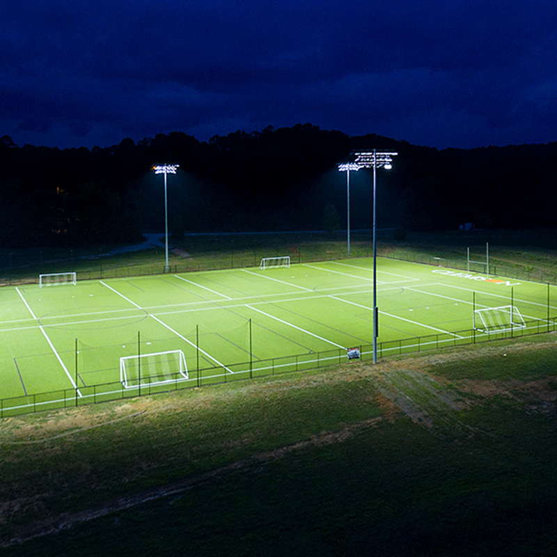 Lighting for Outdoor Basketball Court