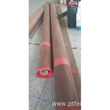 Non-toxic PTFE open mesh conveyor belt