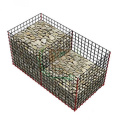 Galvanized Welded Gabion Fence Welded Basket Guardrail