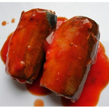 Mackerel Fish In Tomato Sauce Can