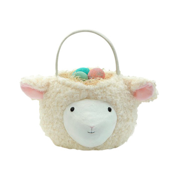 Easter 3D plush llama candy gift bag