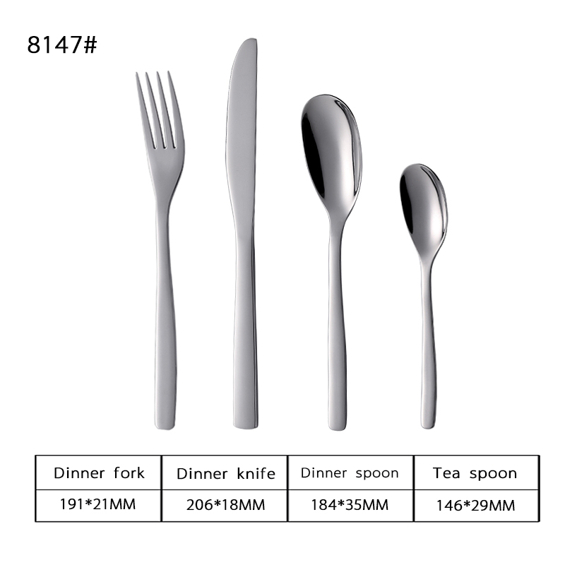 18-0 Hotel Stainless Steel Tableware