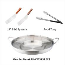 Heavy Duty Stainless Steel Comal Set