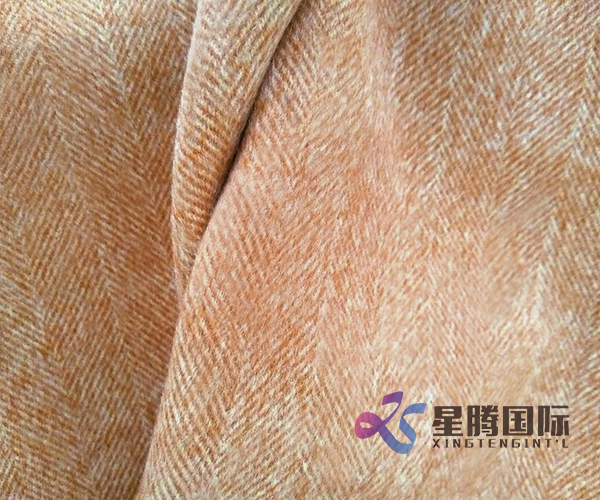 Colorful Warm High Quality 100% Wool Fabric