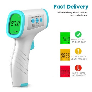 Baby Body Digital net kontakt foarholle thermometer ynfraread