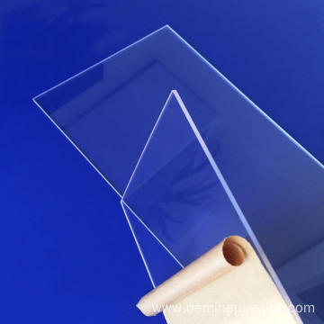 Professional anti fog transparent polycarbonate panel