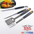 PP soft handle Barbecue BBQ Tools set