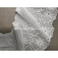 Wide Thick Thin Cotton Crochet Lace