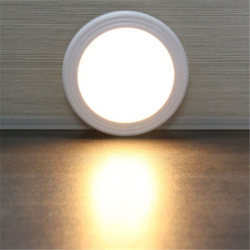 6 LED Light Lamp PIR Auto Sensor Motion Detector Wireless Infrared Use In Home Indoor wardrobes/cupboards/drawers/ stairway