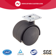 40mm PA Swivel Top Plate  Furniture Caster