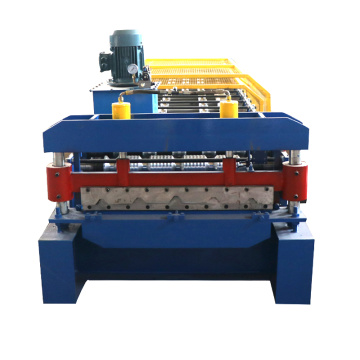 IBR Colored Steel Used Roll Forming Machine