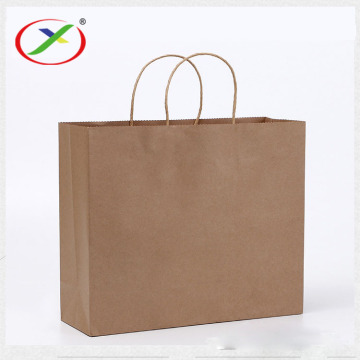 kraft paper bag with round rope