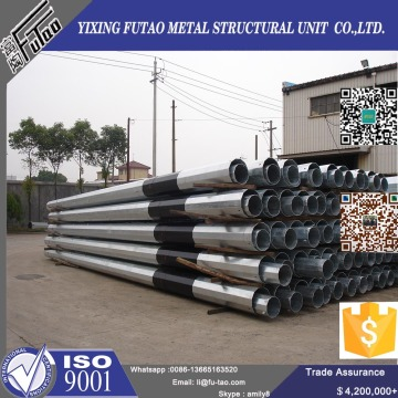 Galvanized Steel Poles For Electric