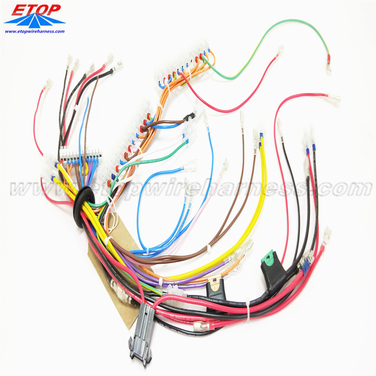 Automobile Complicated Wire Harness Manufacturing Process China Manufacturer