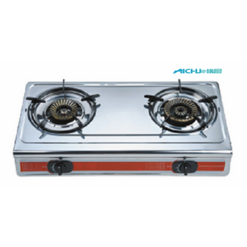 LPG Cast Iron Gas Stove 2 Burners