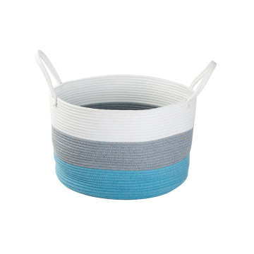 High Quality Cotton Rope Decorative Handmade Hamper
