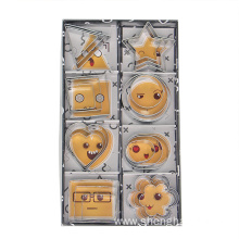 24pcs stainless steel cookie cutter set