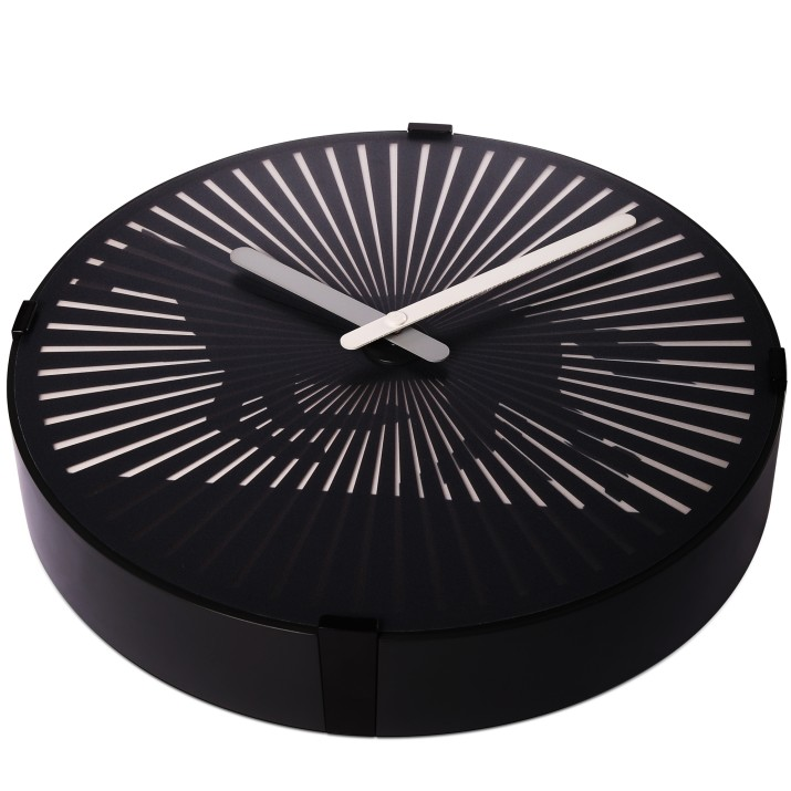 silent wall clocks large