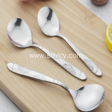 Half Flower Stainless Steel Cutlery